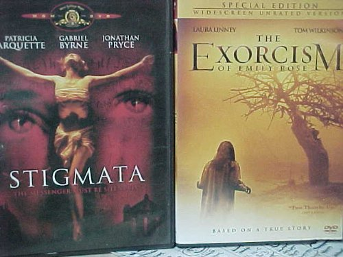 Stigmata & the Exorcism of Emily Rose 2 Pack Horror Collection