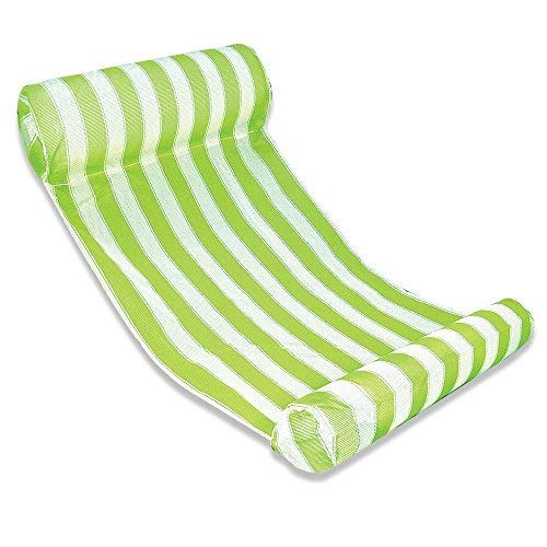 - Premium Swimming Pool Float Hammock, Inflatable Swimming Pools Lounger, Water Hammock Lounge, Luxury Swimming Pool and Ocean Lilo (Green)