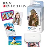 50 HP Sprocket Photo Paper Sheets, Exclusively for