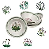 Portmeirion Botanic Garden Soup/Cereal Bowl 6 '', Set Of 6 Assorted