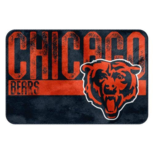 The Northwest Company NFL Chicago Bears Embossed Memory Foam Rug, One Size, Multicolor