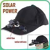 Voltac Outdoor Solar Sun Power Hat Cap Cooling Cool Fan for Golf Baseball Sport. Model 400417