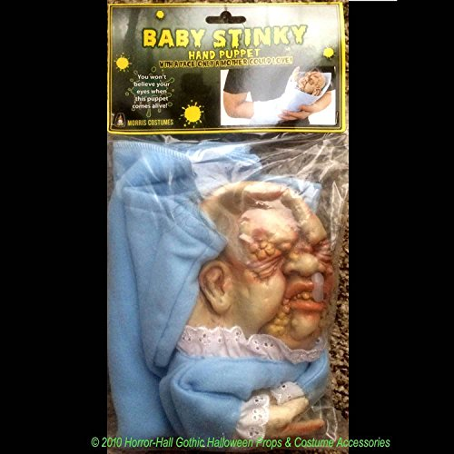 Baby Stinky Puppet Creepy Realistic Mutant Doll Halloween
