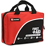 First Aid Kit-160 Piece Professional for Medical Emergency - Includes Emergency Blanket, Bandage, Scissors for Home, Car, Camping, Office, Boat,Hiking,Workplace and Traveling