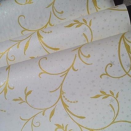 Reagone Canqian Chambre Salon Papier Peint Autocollant Mural Etanche Chaud Pastorale Avec Papier Peint Fleuri 10 Metres D Un Rouleau De Papier Peint 6015 Grande Amazon Fr Cuisine Maison