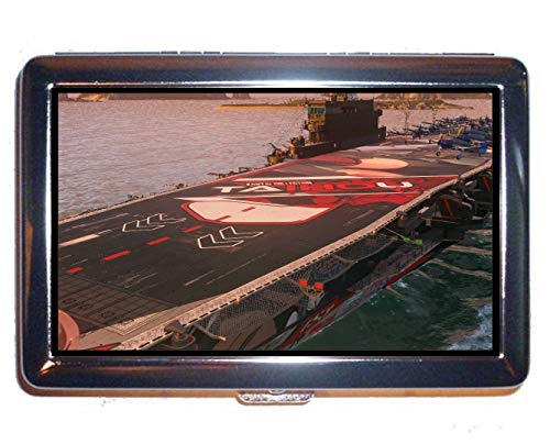 Cigarette Case Box,Japanese Aircraft Carrier Taiho Business Credit ID Card Holder (King Size)