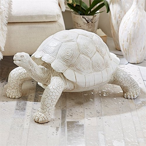 Tozai Galapagos Tortoise Figure with Antique Finish
