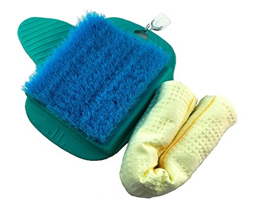ACCOSE Foot Scrub Brush Exfoliating Feet Scrubber Massager Spa for - Shop Las Miracle Vegas