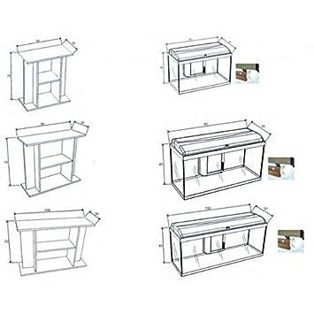 Acuario kit AQUADREAM/BERMUDES [2 medidas]: Amazon.es: Productos para mascotas