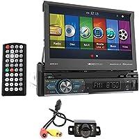 Soundstream VRN-74HB 7 Navigation DVD Player w/Bluetooth, MobileLink8.2+Camera