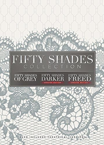 Fifty Shades of Grey/Fifty Shades Darker/Fifty Shades Freed: Movie Collection Trilogy DVD (50 Shades Of Grey Dvd Movie)