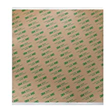 "3M 3M467MP-12x12 3M 467MP Adhesive Tape, 12"" x 12"", Clear"