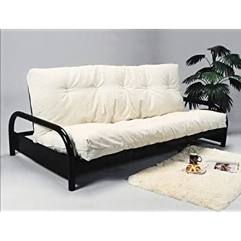 Amazon Com Black Metal Futon Bed Frame Frame Only