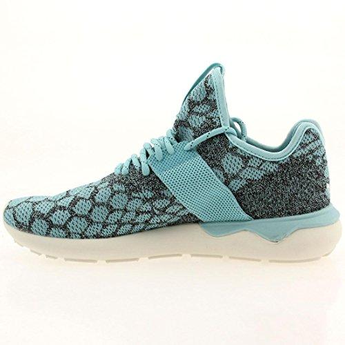 adidas Mens tuburlar Runner Primeknit Zapatillas de running (piedra, Vintage), color blanco BLUSPI CBLACK VINWHT ESDEBL NOIESS