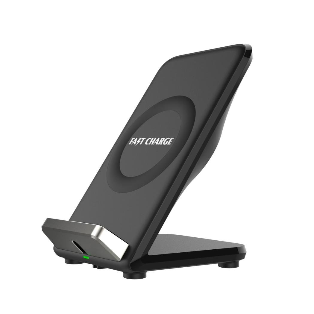 Sonmer 2-Coil Wireless Charger Charging Stand For Iphone 8/8 Plus/X