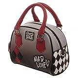 DC Comics Harley Quinn Mad Love Mini Bowler Handbag