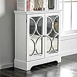 Nila Contemporary Hallway Cabinet, White