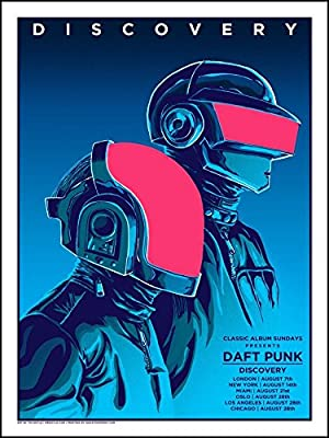 Daft Punk Poster Paper Print (18 inch X 12 inch, Rolled)