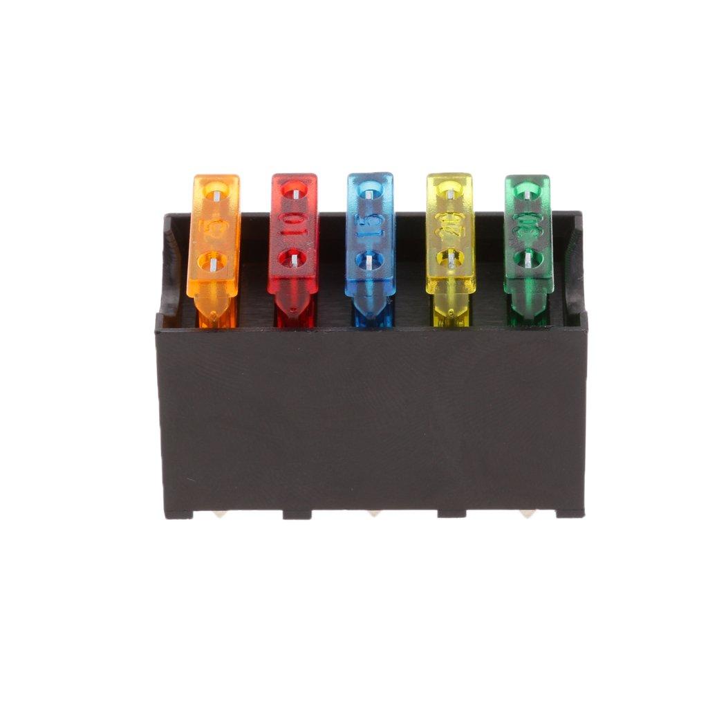 phenovo 5 way blade fuse box block holder circuit protection Farm Fuse Box