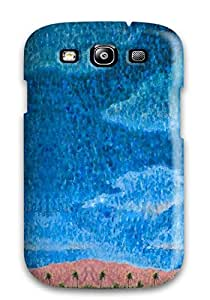 Galaxy S3 Hard Back With Bumper Silicone Gel Tpu Case Cover Blue Sky Cartoon Paint Book Novels Anime Other
