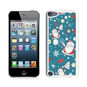 Popular Sell Design Cartoon Santa Claus White iPod Touch 5 Case 2