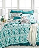 KELLY RIPA - Fretwork Aqua Aqua 10 Piece Cal-King Comforter Set