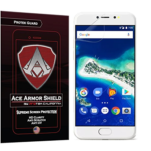 Ace Armor Shield ProTek Guard Screen Protector for the General Mobile GM6 with free lifetime Replacement warranty
