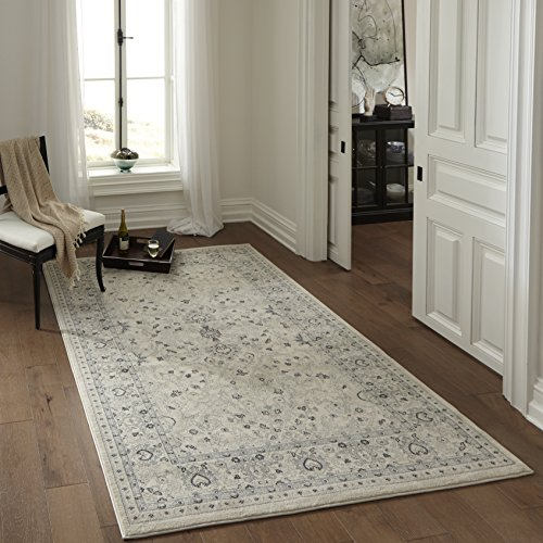 (Momeni Rugs ZIEGLZE-07IVY2030 Ziegler Collection, Traditional Area Rug, 2' x 3', Ivory)