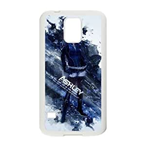 Mass Effect 3 Samsung Galaxy S5 Cell Phone Case White xlb2-379610