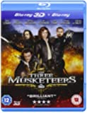 The Three Musketeers (Blu-ray 3D + Blu-ray) [Reino Unido] [Blu-ray]