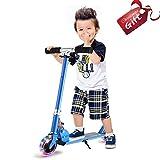 Anjojo Kids Kick Scooter Height Adjustable HandleBar Mini Push Scooter with...