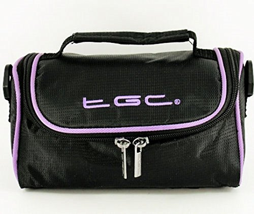 Electric Purple Black Jet Hombro Negro amp; Mujer Bolso Electric With Black Trims para TGC Purple al qnx0cOnS