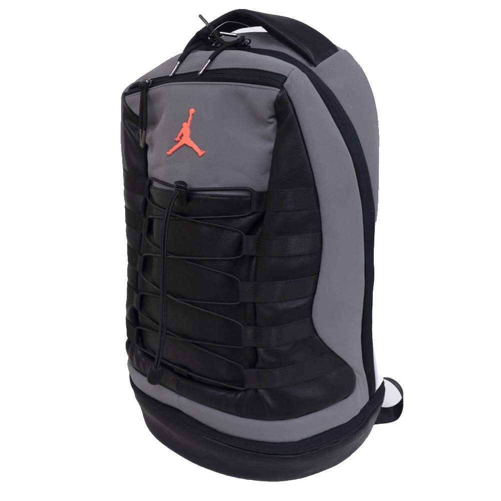Nike Air Jordan Retro 10 Backpack (One Size, Cool Grey)