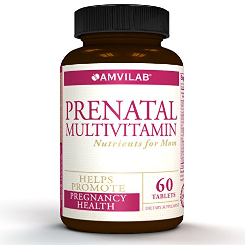 PRENATAL MULTIVITAMIN- One Serving a Day with All Essential Nutrients for Mom and Baby. Specially Formulated for Pregnant Women and Women Trying to Get Pregnant. Great Value, 60 Tablets 2 Month Supply Review