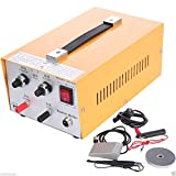 51qRcMJJdiL. SL160  - Pulse Sparkle Spot Welder Jewelry Welding Machine Gold Silver Platinum US Plug 110V