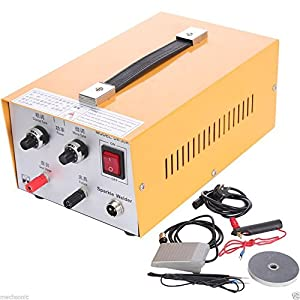 Pulse Sparkle Spot Welder Jewelry Welding Machine Gold Silver Platinum US Plug 110V