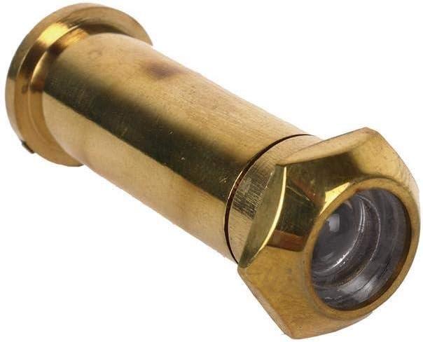 Mirilla de Lat/ón para puertas Dimensiones : 14 x 35 mm Con angulo de 200 grados DOJA Industrial