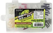 Trout Magnet Mini Magnet Kit - 70 Grub Bodies and 15 Size 14 Hooks