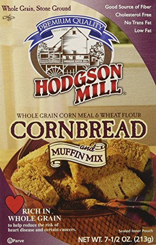 Hodgson Mill Cornbread & Muffin Mix, 7.5000-ounces (Pack of8) -
