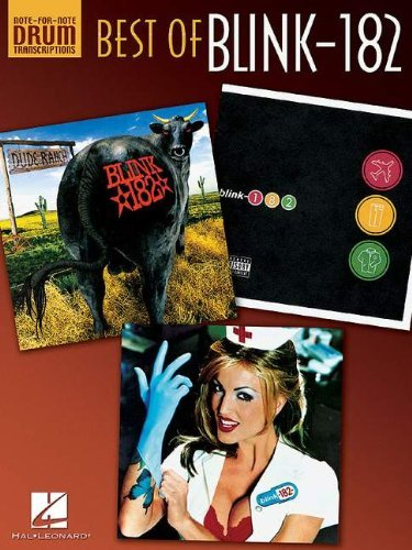 Blink 182 2003 - Blink-182: Best of Drum Transcriptions (Note-For-Note Drum Transcriptions)