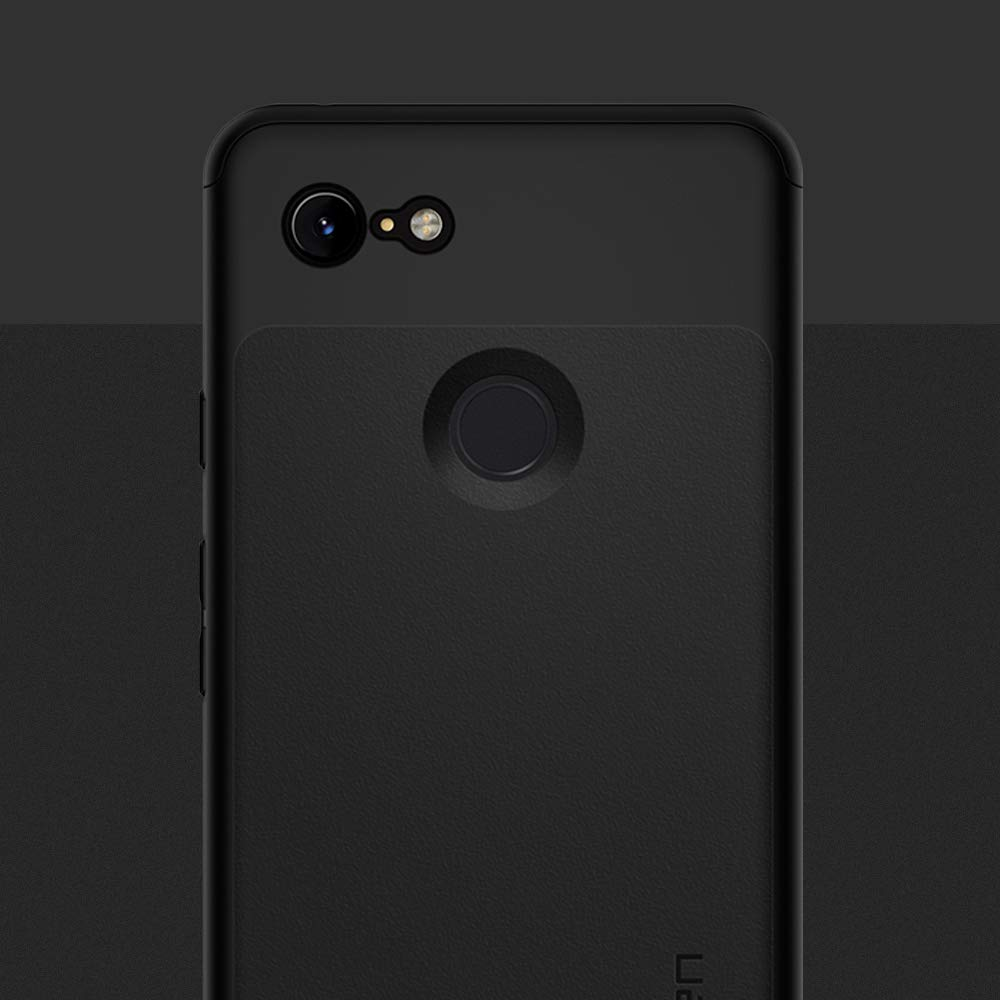 huge discount e4132 c89ae Google Pixel 3 / Pixel 3XL - Spigen Thin Fit 360 Case & Tempered Glass