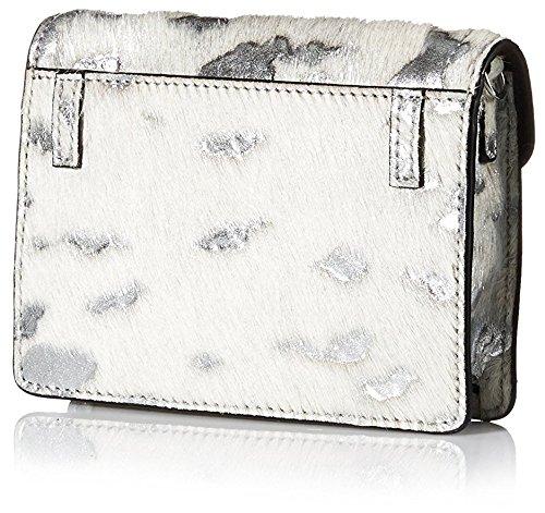 Silver Randall and Fanny Loeffler Mini Cream Pack Crossbody Women's 8Pxwndvz