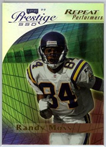 (1999 Playoff Prestige SSD #151 Randy Moss NM-MT Vikings)