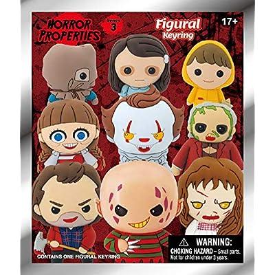 Warner Bros. Horror Properties Series 3 - 3D Foam Key Ring Blind Bag: Toys & Games