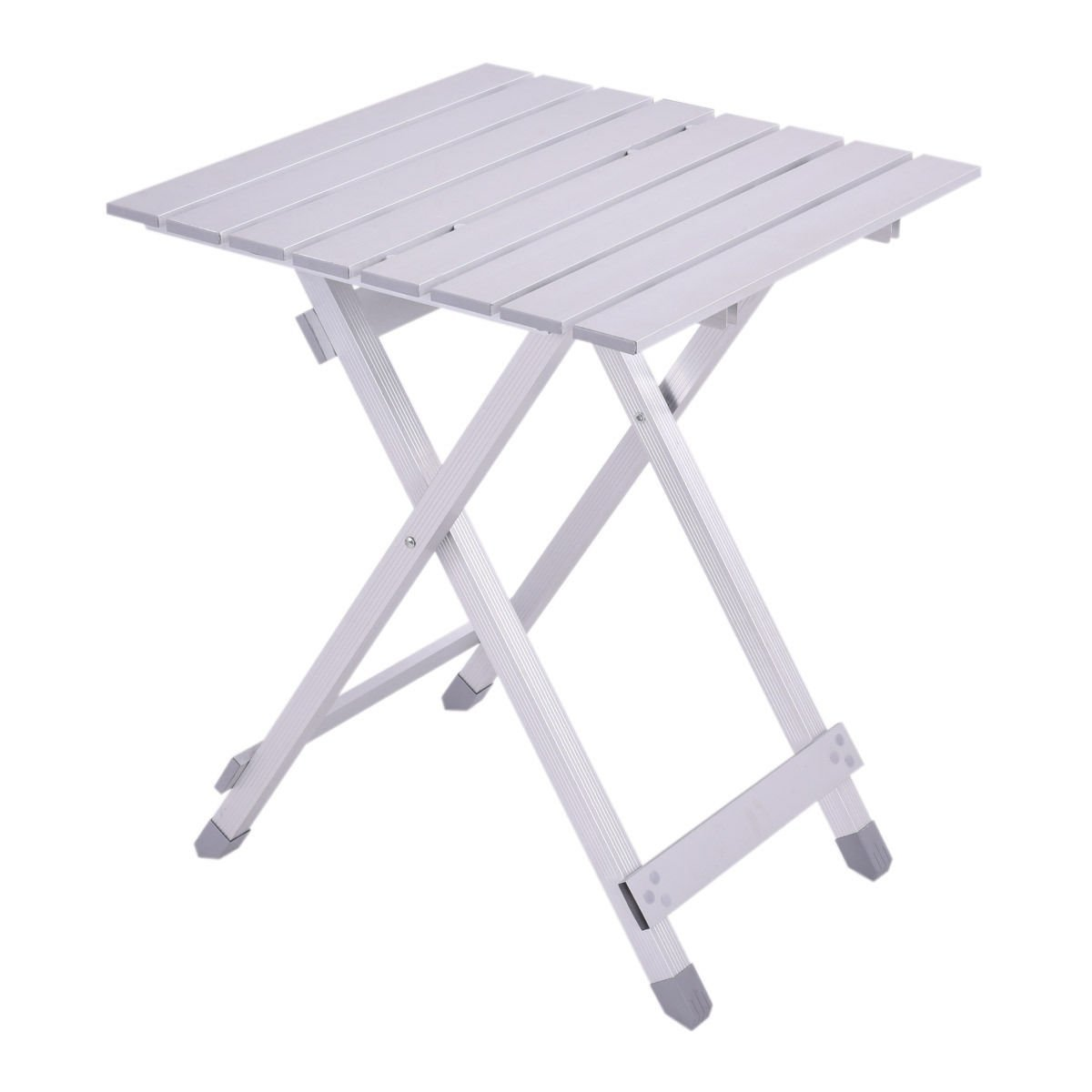 Roll up Aluminum Alloy Foldable Portable Table Picnic Outdoor Camping Ultralight