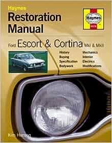 Commenter sur haynes ford escort repair manual