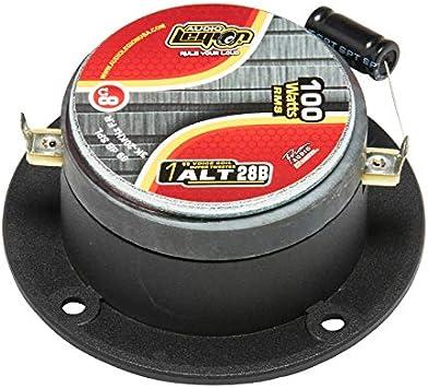 Car Tweeters 1 400W - ALT08 Car Speakers Car Audio Audio Legion High Compression Chrome Bullet Super Tweeters