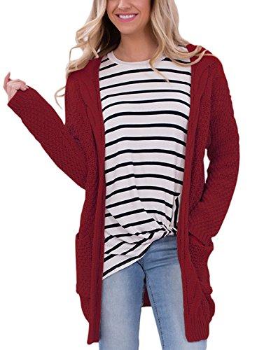 Juniors Cardigan Sweater - 2