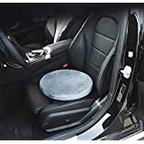 Swivel Seat - Car Seat Cushion Pivots To Allow You To Easily Get In & Out Of Seated Positions - Swivel Chair Cushion Is Portable & Lightweight - Gray