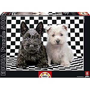 Educa 15508 500 Checked Terriers